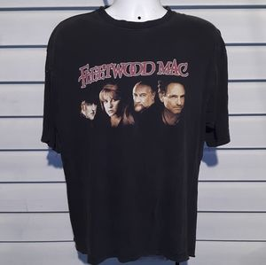 RARE Vintage Fleetwood Mac rock Band T shirt XL
